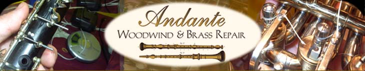 Andante Brass & Woodwind Instrument Repair, Victoria, BC